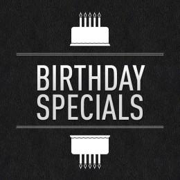 Birthday Specials im The Strike